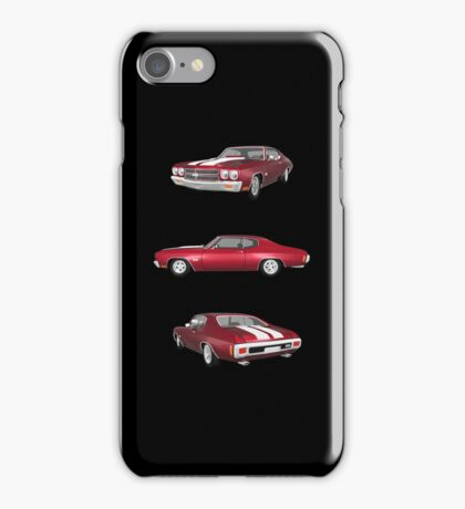 Candy Apple 1970 Chevelle SS iPhone Case/Skin