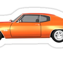 Orange 1970 Chevelle SS Sticker