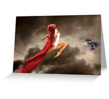 Dancer in the Sky n.2 Greeting Card