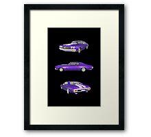 Purple 1970 Chevelle SS Framed Print