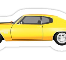 Yellow 1970 Chevelle SS Sticker