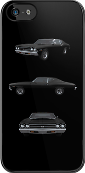 Black 1969 Chevelle SS by bradyarnold