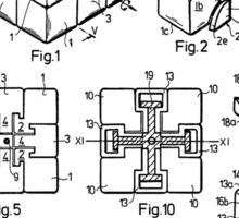 puzzle Patent 1983 Sticker