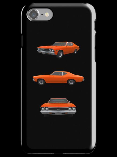 Orange 1969 Chevelle SS by bradyarnold