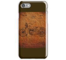 Motorcycle Patent 1925 iPhone Case/Skin