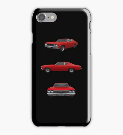 Red 1969 Chevelle SS iPhone Case/Skin