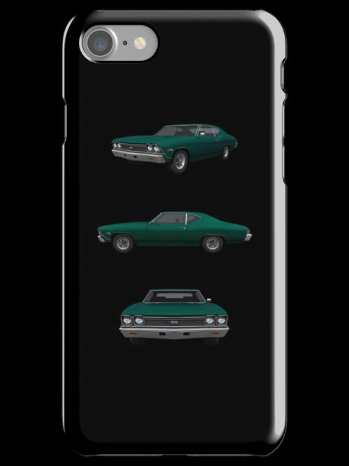 Green 1968 Chevelle SS by bradyarnold
