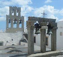 Patmos Island St John Church Bells 1 by SlavicaB