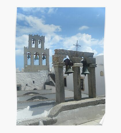 Patmos Island St John Church Bells 1 Poster