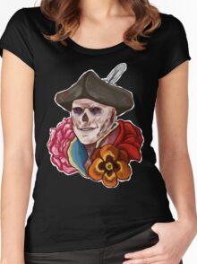 John Hancock Women's Fitted Scoop T-Shirt