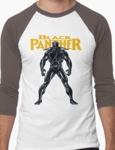 Black Panther Men's Baseball ¾ T-Shirt