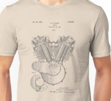 Engine patent from 1919 Unisex T-Shirt