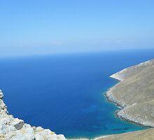 Patmos Greek Island View #photography by SlavicaB