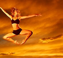 Dancer in the Sky n.10 by Carnisch