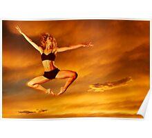 Dancer in the Sky n.10 Poster