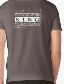 """You Come at the King, You Best Not Miss"" - The Wire (Light) Mens V-Neck T-Shirt"