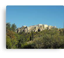Patmos Greek Island Monastery  #photography Canvas Print
