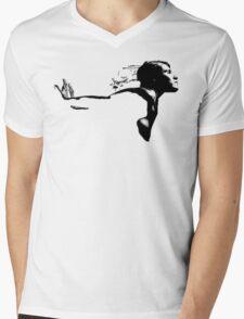 Flying Mens V-Neck T-Shirt