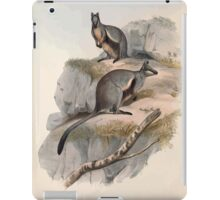 A monograph of the Macropodidæ or family of kangaroos John Gould 1842 024 Petrogale Lateralis iPad Case/Skin