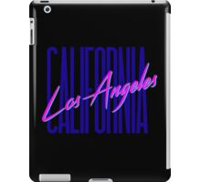 Retro 80s Los Angeles, California iPad Case/Skin