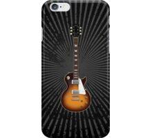 Sunburst Electric Guitar iPhone Case/Skin