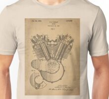 Engine patent  Unisex T-Shirt