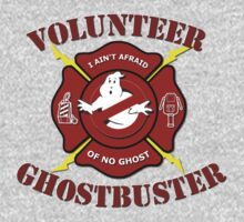 Volunteer Ghostbuster (Clean) Kids Tee