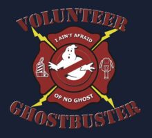 Volunteer Ghostbuster (Clean) T-Shirt