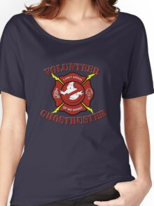 Volunteer Ghostbuster (Clean) Women's Relaxed Fit T-Shirt