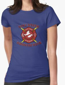 Volunteer Ghostbuster (Clean) Womens Fitted T-Shirt