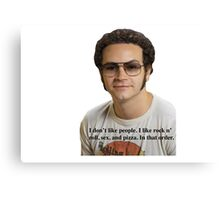 Hyde Quotes Canvas Print