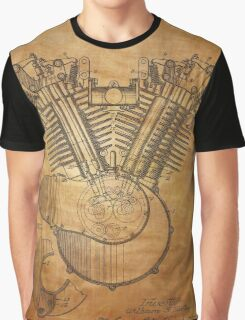Engine patent from 1919  Graphic T-Shirt