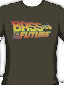 Bass to the Future (colored) T-Shirt