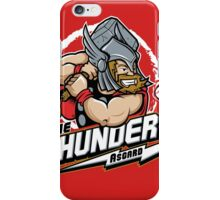 THE THUNDERS BASEBALL iPhone Case/Skin