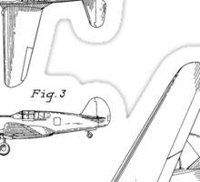 Airplane Patent 1942 Sticker