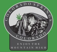 Marijuana Colorado Springs by MarijuanaTshirt