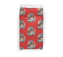 THE THUNDERS BASEBALL Duvet Cover