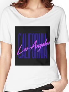 Retro 80s Los Angeles, California Women's Relaxed Fit T-Shirt