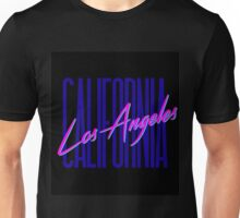 Retro 80s Los Angeles, California Unisex T-Shirt