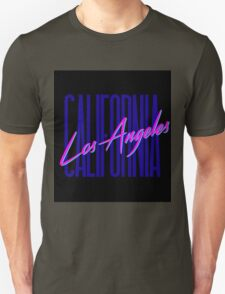 Retro 80s Los Angeles, California Unisex T-Shirt