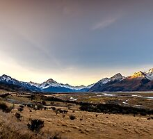 Road Trip Mt Cook by Russell Charters