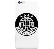 asap worldwide logo iPhone Case/Skin