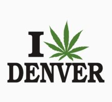 I Love Marijuana Denver Colorado T-Shirt