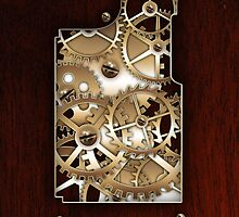Brass and wood Steampunk cover by Confundo