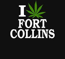 I Love Cannabis Fort Collins Colorado Unisex T-Shirt