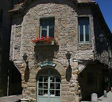 Chez Saskia, Carcassonne, France by Allen Lucas
