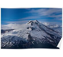 South Side of Mt Baker, Washington Poster