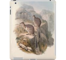 A monograph of the Macropodidæ or family of kangaroos John Gould 1842 006 Oetrogale Bracuydtis iPad Case/Skin