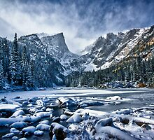 Dream Lake Pano by Adam Northam