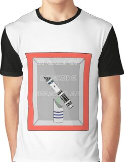 INCASE OF DARKSIDE BREAK GLASS  Graphic T-Shirt